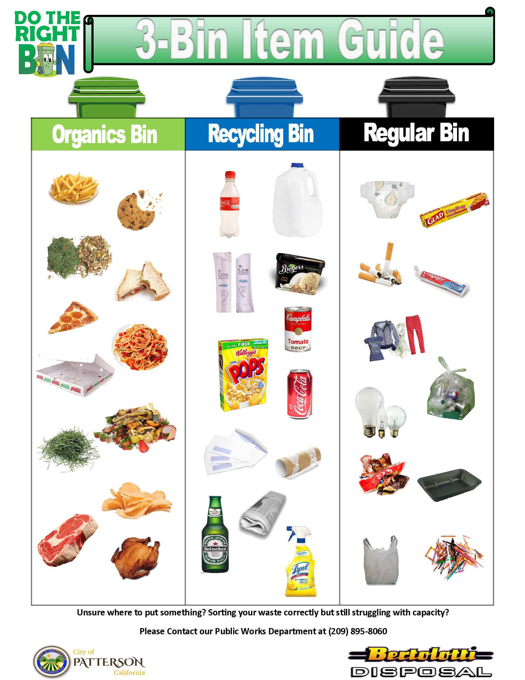 3 BIN RECYCLE POSTER 1