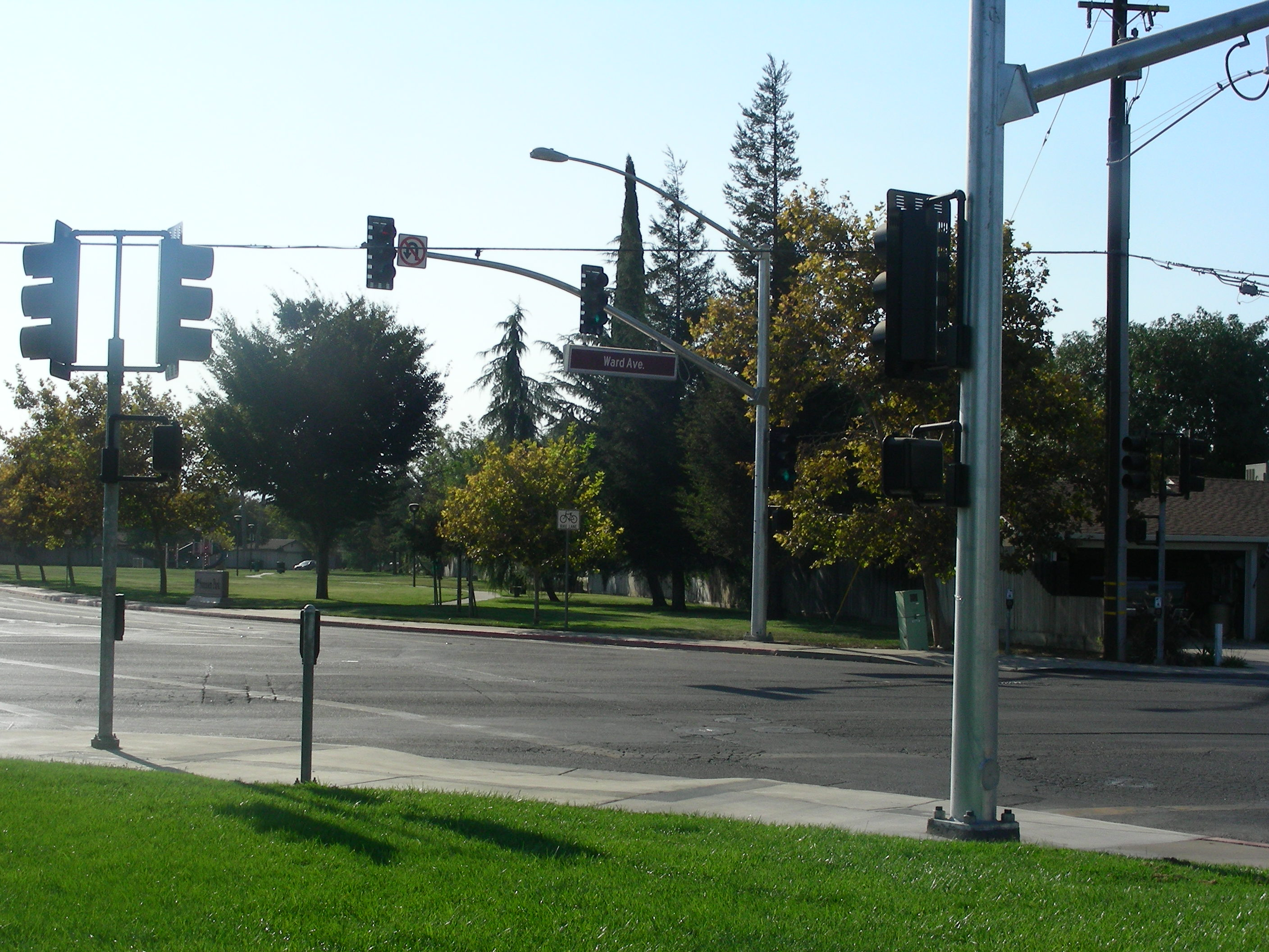Intersection with Stop Lights