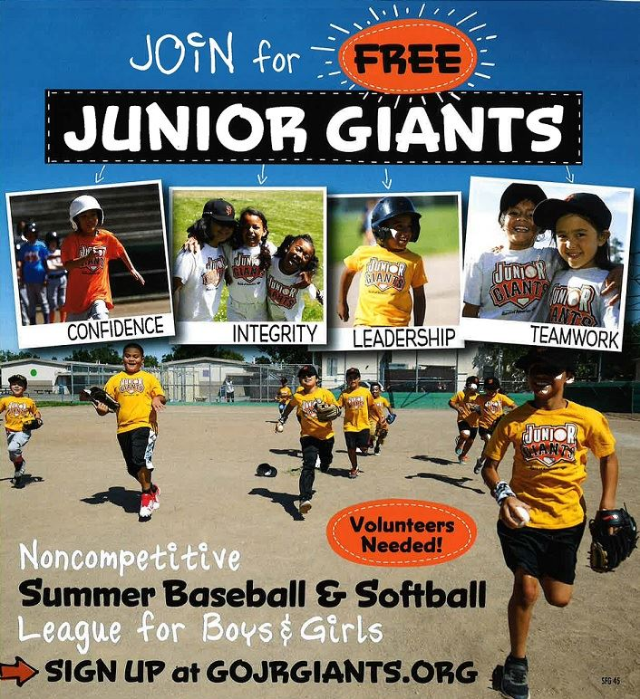 Junior Giants 2019