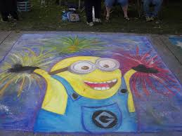Chalk Art Picture 1